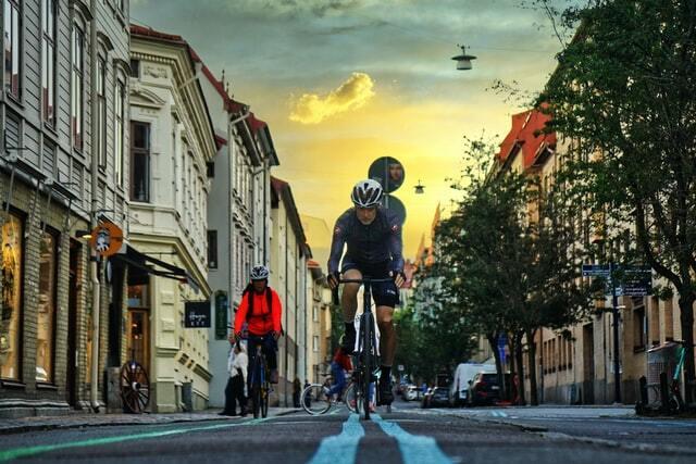 Cykling utomhus
